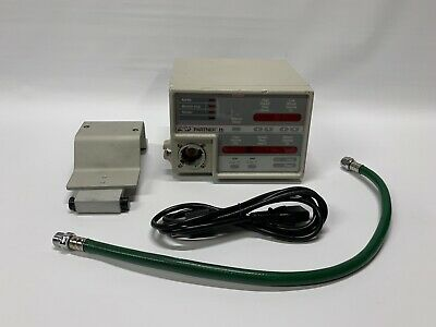 VIP BIRD 15285 Bird Partner IIi INFANT/PEDIATRIC VENTILATOR MONITOR ~ Tested!