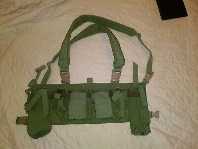 Eagle Industries Universal Tactival Vest Chest Rig - OD Green - CR-PHUTV