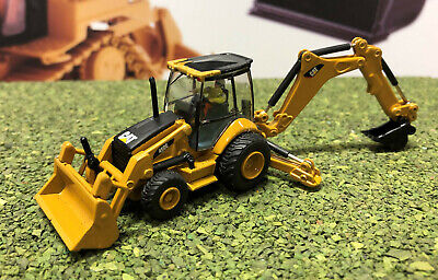 CAT 450E Backhoe HO scale 1:87 Diecast Masters