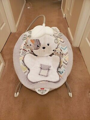 Fisher-Price See & Soothe Deluxe Bouncer Hands-Free Baby Infant Boys Girls