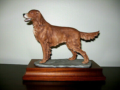 IRISH SETTER - AK Kaiser Porcelain, Germany - Limited Edition, Superb!