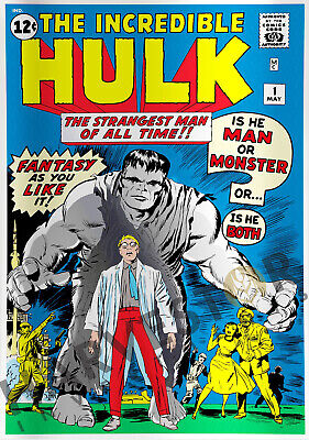 Marvel Comics - The Incredible Hulk #1 - Silver Foil 1 Oz. - Third In Series