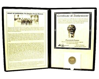 Heart of Darkness, The Belgian Congo Horrors Coin Album,Story And Certificate