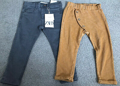 Zara Boys Jeans And Trousers 2-3 Years