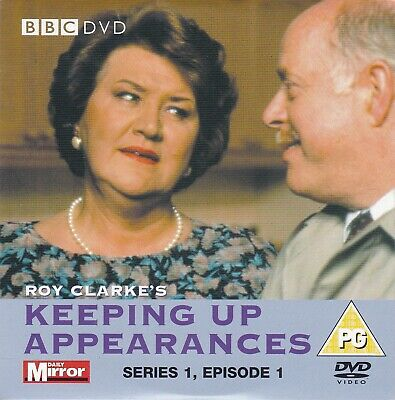 KEEPING UP APPEARANCES Series 1, Episode 1 ( DAILY MIRROR Promo DVD ) BBC DVD