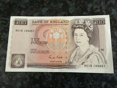 1X Gill £10 Bank Note Unc
