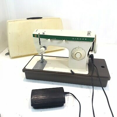 Vintage Singer 247 Sewing Machine Electric Working Order Heavy Duty
