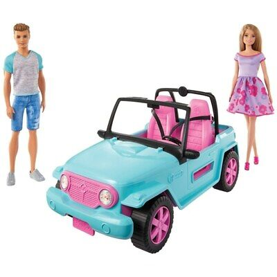 REMAKABLE Barbie and Ken Dolls with Jeep BRAND NEW SEALED