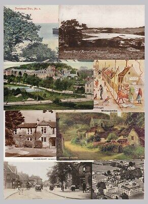 Somerset North - old postcards - 35 cards- sold singly