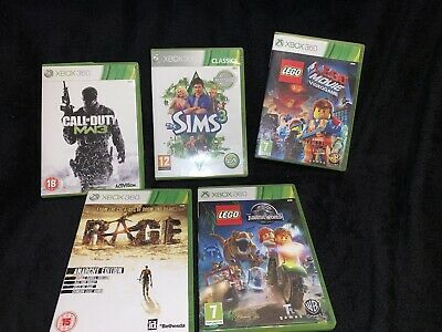 xbox 360 Games Call Of Duty Mw3 +sims3+Lego Movie Video Game+race+Jurassic World