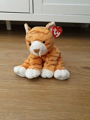 Ty Beanie Baby Pluffies. Purrz The Cat. With Tag