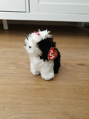 Ty Beanie Baby. Poofie The Dog. With Tag