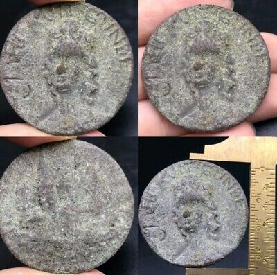 Used Good Condtion Very Antique Old Roman Parthies Bronze Coin
