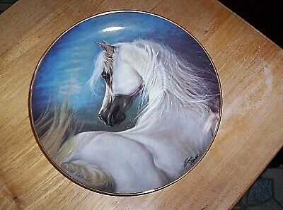 Danbury Mint Noble and Free Series Horse Plate  ETERNITY CALLS by Susie Morton