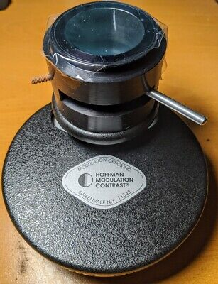 Hoffman Modulation Contrast Microscope Condenser