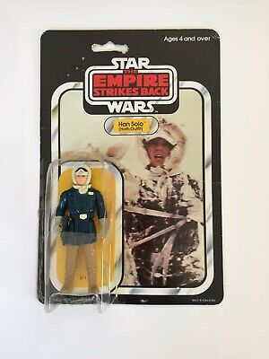 Han Solo Action Figure Hoth Outfit, Star Wars, ESB, Original 1980er