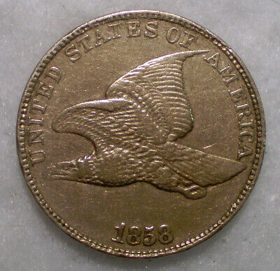 1858 Flying Eagle Cent LL. High Detail, See Description. FREE Shipping!