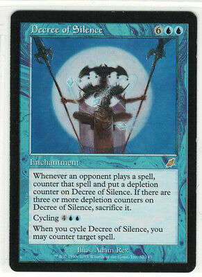 MTG Scourge - Decree of Silence