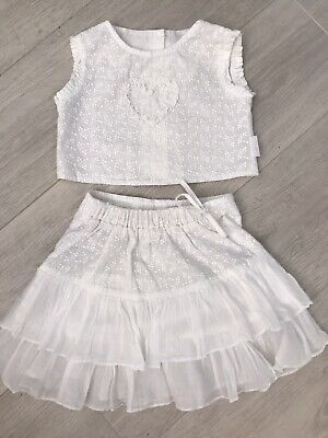 Girls Darling Designer Skirt And Top Approx Age 4
