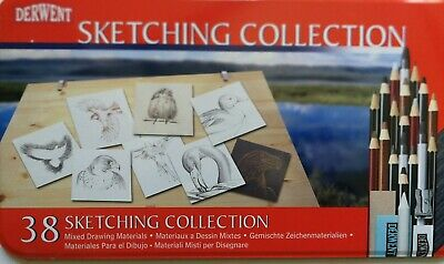 Derwent Sketching Collection Drawing, 38 Sjetching Collection