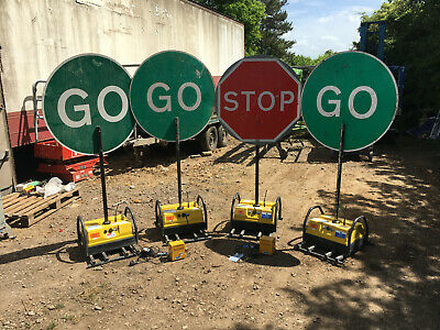 Pike Stop Go Signs Traffic management