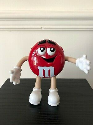 M&M's Red Portable Radio Holder AM/FM – Works - Rare