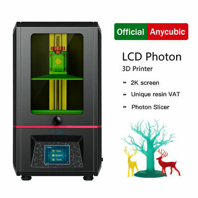ANYCUBIC Photon Photocuring 3D Printer, Ultra Precision Off-line Print UV Resin