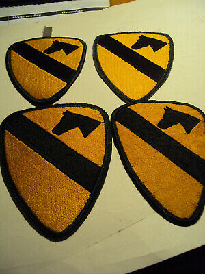 First Cavalry Division Patches (4)