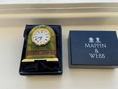 Mappin & Webb Small Decorative  Carriage Clock