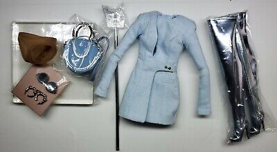 Fashion Royalty Modernist Eugenia Perrin Frost Outfit And Accessories New Only