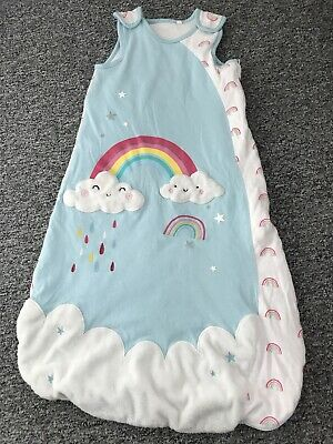TU rainbow sleeping bag 12-18 months (1.5tog)