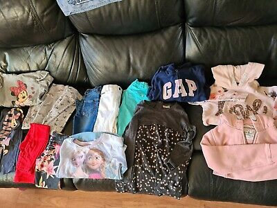 Girls Clothes Bundle job lot age 6-7 years, NEXT, h & m, m&s, primark 50 items