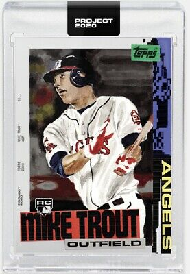 Topps Project 2020 Card #85 - Mike Trout By Jacob Rochester 2011 RC PREORDER!!!