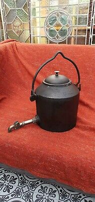 Antique Cast Iron Swain Kettle