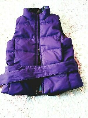 GIRLS  GENUINE   RALPH LAUREN REVERSIBLE GILET BODY WARMER JACKET AGE  4 new