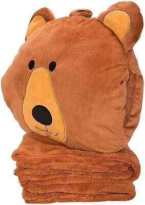 Mountain Warehouse Character Travel Pillow & Blanket (NEW)