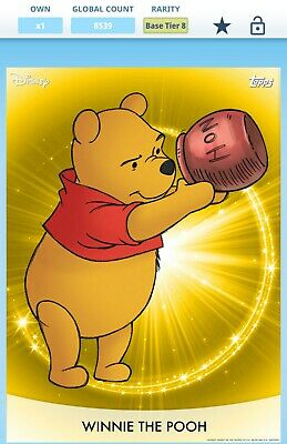 Winnie the Pooh - Disney Topps Collect - Tier 8 Gold - digital card