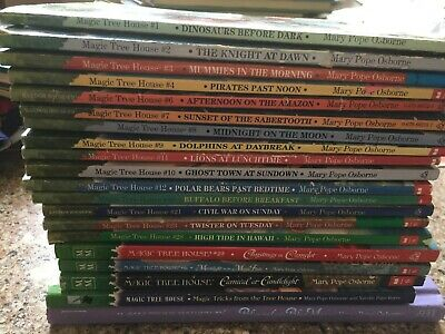 Lot of 20 Magic Tree House Books Paperback   Mary Pope Osborne