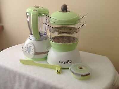 Babymoov Nutribaby, Used Once Only, Baby Food Processor, Steamer
