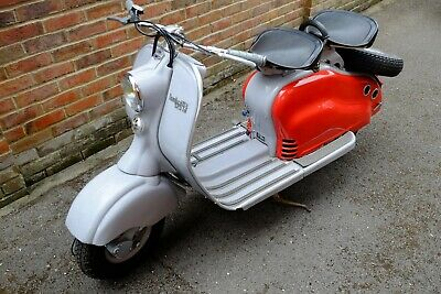 Lambretta LD125 1955 Renovated 4 years ago and garaged since MOT&Tax exempt