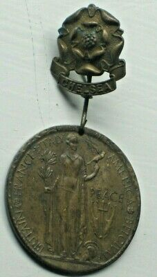 Ww1 Chelsea Commemorative  Peace Medal 1919