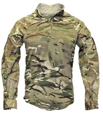 British Army Issue Full Mtp Ubacs - Brand New - Combat Shirt- Large. 180/100