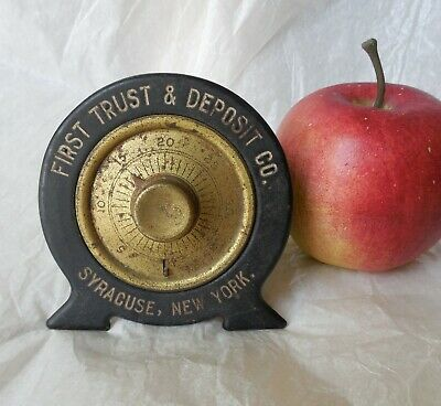 Early Promo Combination Metal Bank, First Trust & Deposit Co. Syracuse, New York