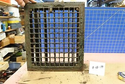 Vintage Antique Heater Grate 5 Of 6