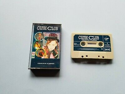 Culture Club - Colour By Numbers - Cassette Tape