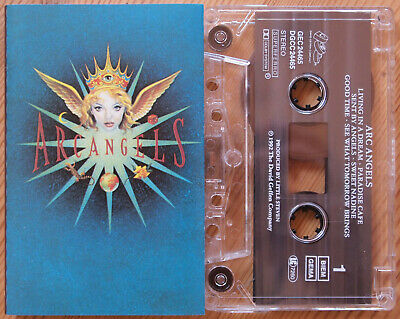 Arc Angels (Geffen Gec24465) 1992 Europe Cassette Tape Ex Cond Hard Rock