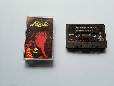 Poison - Open Up And Say Ahh! - Cassette Tape