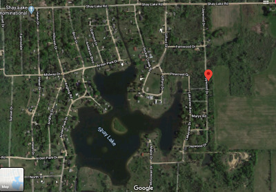 Shay Lake, Michigan Land! Shed, Cement Pad, & Utilities! NO RESERVE FOR DEED!