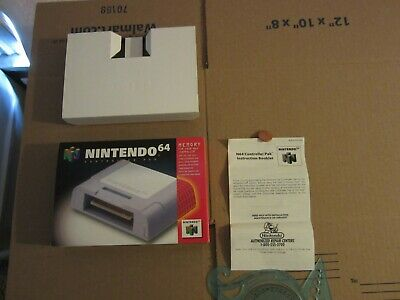 Nintendo 64 Controller Pak - Box + Inserts ONLY! SEE PICS!