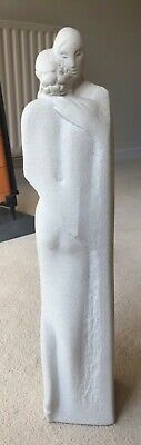 Marbell Stone Art Sculpture/Statue Of Figures Embracing, Perfect Condition